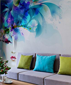 Brewster Home Fashions mural